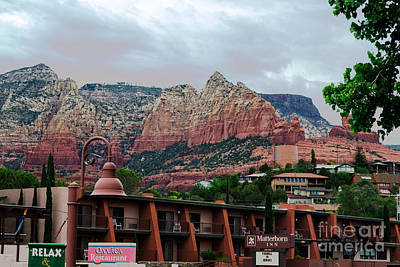 Glorious Red Rock Country Print by Beverly Guilliams