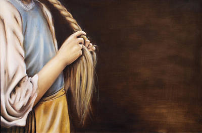 Plaiting Painting - Glory by Leanne  Larson