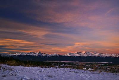 Mt. Massive Photograph - Glow Of Morning by Jeremy Rhoades