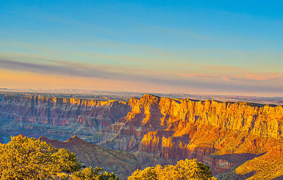 Grand Canyon Photograph - Glowing Canyons by Tod and Cynthia Grubbs