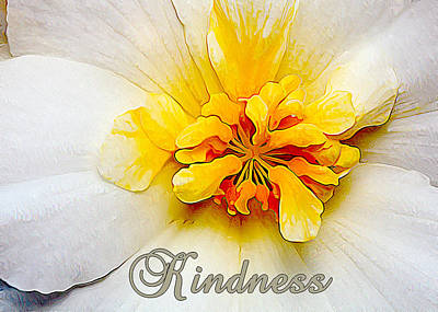 Glowing Softly - Kindness 2 Print by Bill Caldwell -        ABeautifulSky Photography