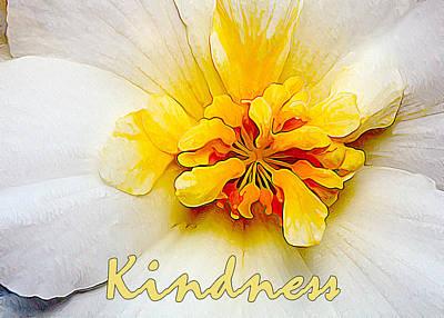 Manipulation Photograph - Glowing Softly - Kindness by Bill Caldwell -        ABeautifulSky Photography