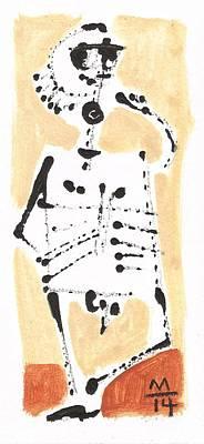 Glyphs No. 6 Print by Mark M  Mellon