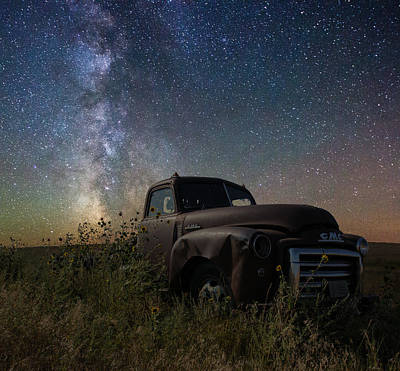 Rusty Old Trucks Photograph - GMC by Aaron J Groen