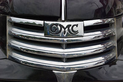By Thomas Woolworth Photograph - Gmc Truck Emblem by Thomas Woolworth