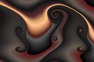 Eggleston Digital Art - Gnarls In Dun Shades by Mark Eggleston