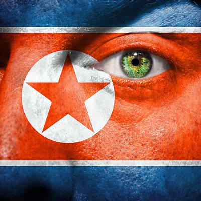 Go North Korea Print by Semmick Photo