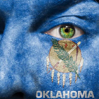 Go Oklahoma Print by Semmick Photo
