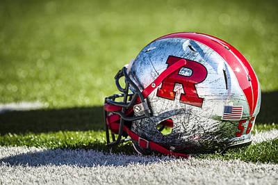 Go Rutgers Original by Eduard Moldoveanu