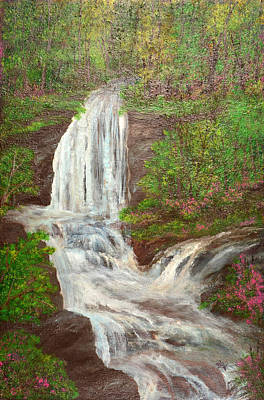 Go With The Flow Print by Barbara Willms