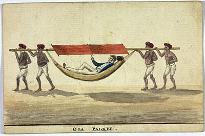 Goa Palkee Print by British Library