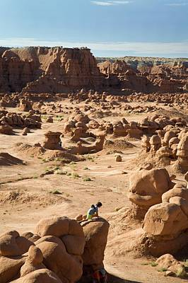 Goblin Photograph - Goblin Valley State Park by Jim West