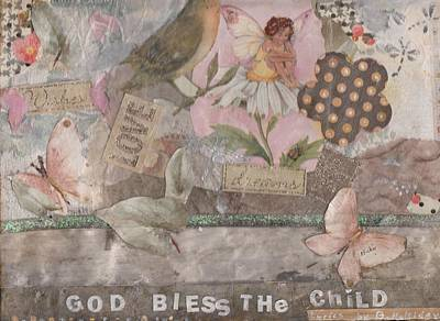 God Bless The Child -2 Print by Michele Brown