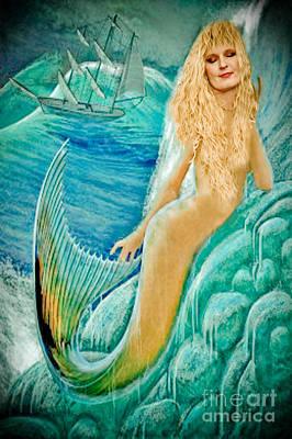 Photograph - Goddess Atargatis 1000 Bc by Gary Keesler