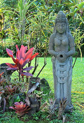 Hindu Goddess Photograph - Goddess Bhudevi Mother Earth by Karon Melillo DeVega