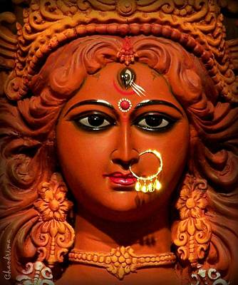 Goddess Durga Photograph - Goddess Durga by Chandrima Dhar