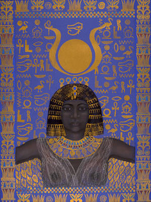 Goddess Isis Print by Diana Perfect