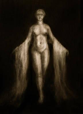 Goddess Of Spring II Print by Derek Van Derven