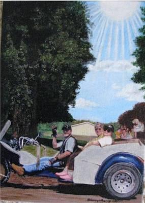 Gods Best Angel Print by Sherryl Lapping