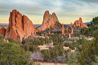 City Photograph - Gods Colorado Garden by James BO  Insogna