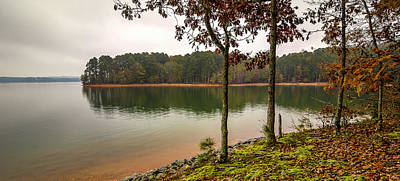 Hartwell Photograph - God's Country by Steve DuPree