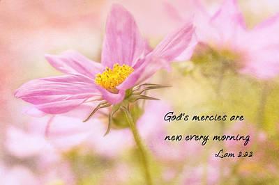 God's Mercies Print by Mary Jo Allen