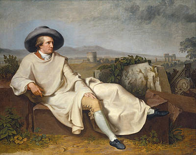 Goethe Print by Celestial Images