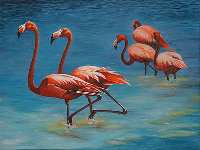 Painting - Going Exclusive by Pam Kaur