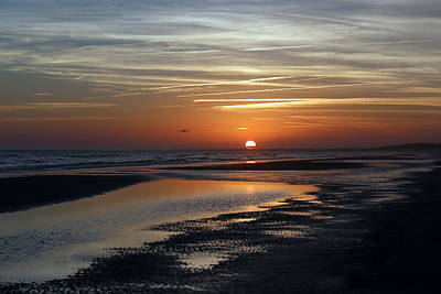 Sunset Photograph - Going Home Sunset by Rosanne Jordan