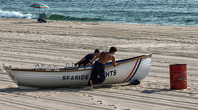 Seaside Heights Digital Art - Going To Seaside Heights by John Hoey