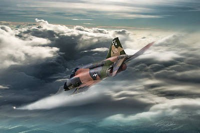 Air Ace Digital Art - Going To Work by Peter Chilelli