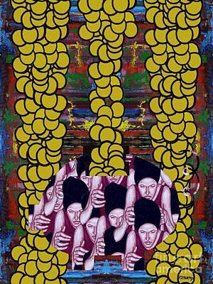 Gold 1 Print by Patrick J Murphy