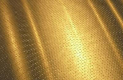 Gold Background Print by Ktsdesign