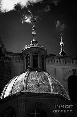 Polish City Photograph - gold roof of Sigismunds chapel in Wawel cathedral wawel castle hill krakow by Joe Fox