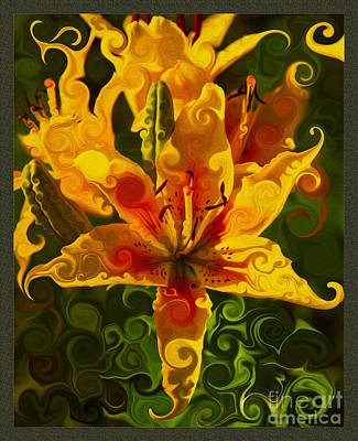Golden Beauties Print by Omaste Witkowski