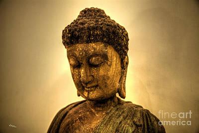 Hong Kong Photograph - Golden Buddha by T Lang