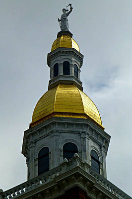 Golden Dome Print by Soul Full Sanctuary Photography