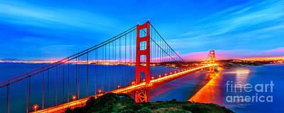 California Ocean Photograph - Follow The Golden Trail by Az Jackson