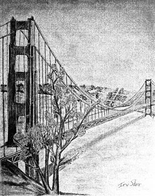 Golden Gate Bridge Print by Irving Starr