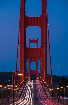 Golden Gate Photograph - Golden Gate Dawn by Steve Gadomski