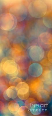 Disco Photograph - Golden Glow by Jan Bickerton