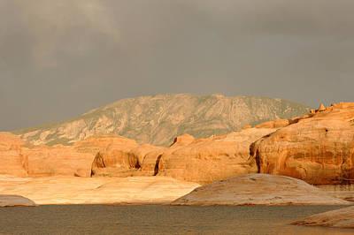 Landscapes Photograph - Golden Hour At Lake Powell by Julie Niemela