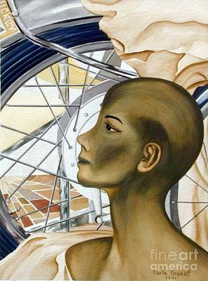 Golden Lady Original by Carla Jo Bryant