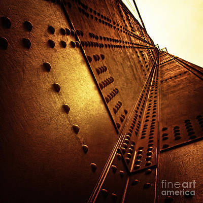 Golden Gate Bridge Photograph - Golden Mile by Andrew Paranavitana
