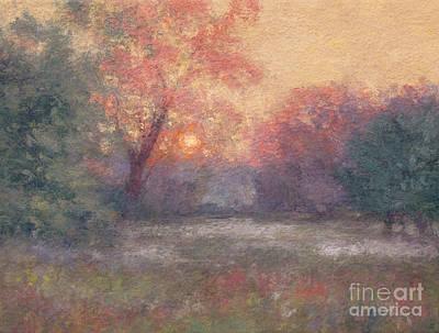 Painting - Golden Sunrise - June by Gregory Arnett
