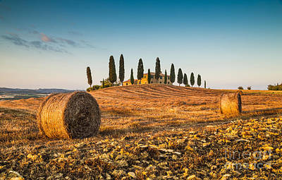 Golden Tuscany 2.0 Print by JR Photography