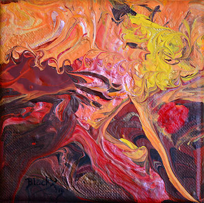 Goldilocks Painting - Goldilocks' Dementia by Donna Blackhall