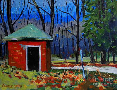 Golf Course Shed Series No.3 Print by Charlie Spear