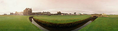 Golf Course With Buildings Print by Panoramic Images