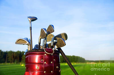 Professional Photograph - Golf Gear by Michal Bednarek